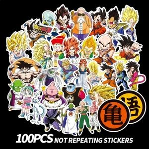 New 100Pcs Dragon Ball Z Random Stickers